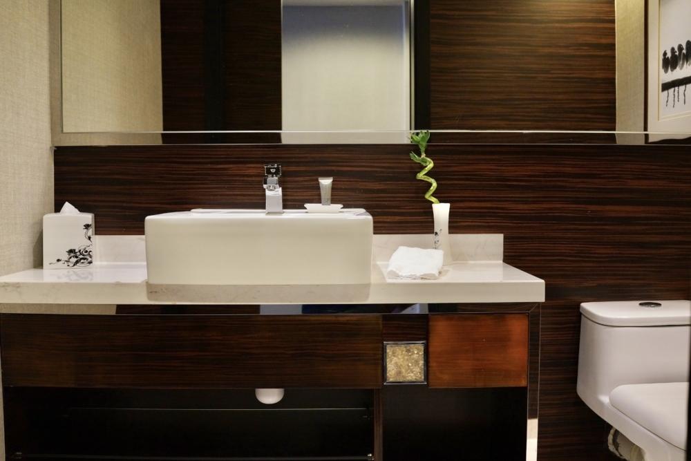 香港スカイシティ・マリオット・ホテルのスイートルーム/トイレ