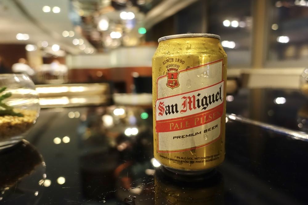 香港スカイシティ・マリオット・ホテルエグゼクティブラウンジカクテルタイムのメニュー