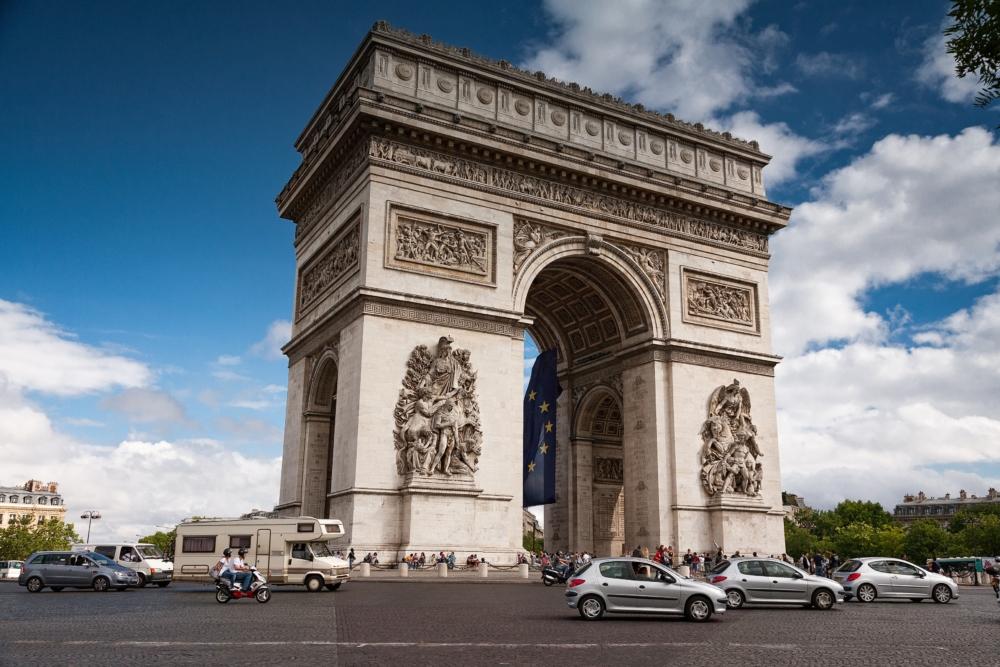 パリ マリオットホテル シャンゼリゼは凱旋門ほど近くで立地最高!