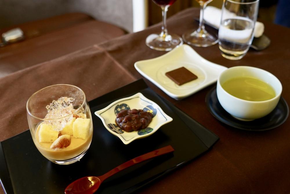 JAL国際線ファーストクラス機内食:甘味