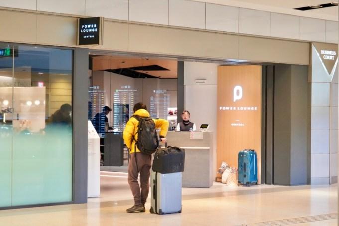 羽田空港第1ターミナルパワーラウンジセントラルの場所