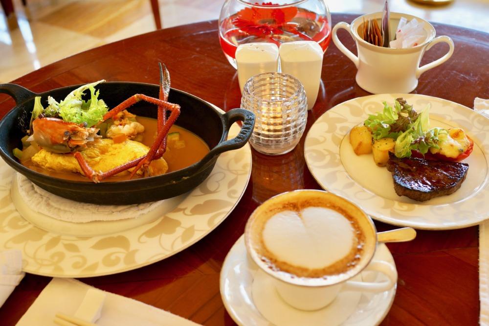 セントレジス・バリ・朝食レストラン・ボネカの朝食風景