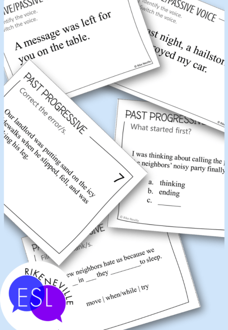 examples of task cards