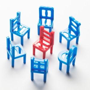 grammar game HOT SEAT illustration