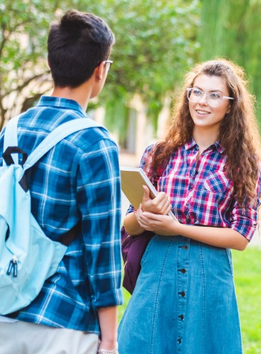 conversational visits are a great speaking activity to do outside on a nice day