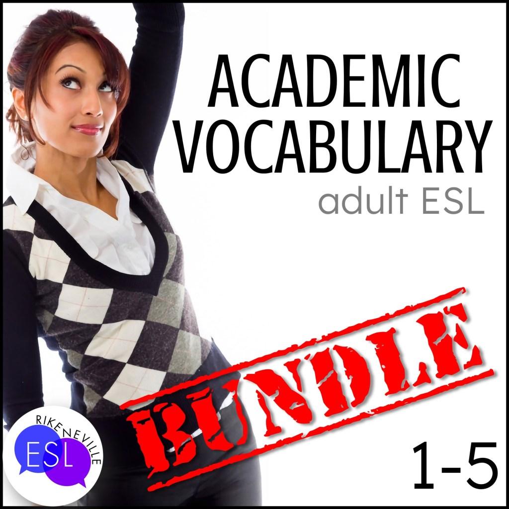 Teach academic vocabulary with bundle 1