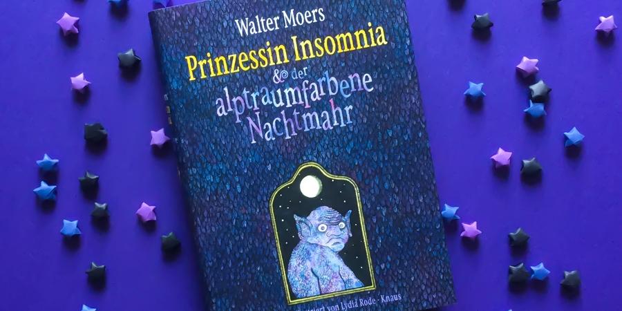 Rezension zu Prinzessin Insomnia und der alptraumfarbene Nachtmahr von Walter Moers