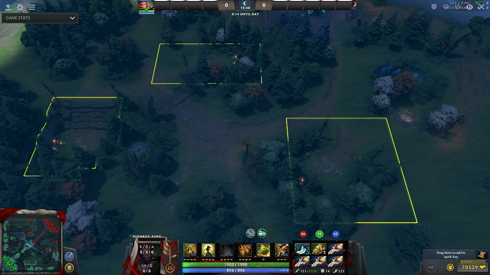 New Ward Spots And Terrain Changes In 700 DOTABUFF Dota 2 Stats