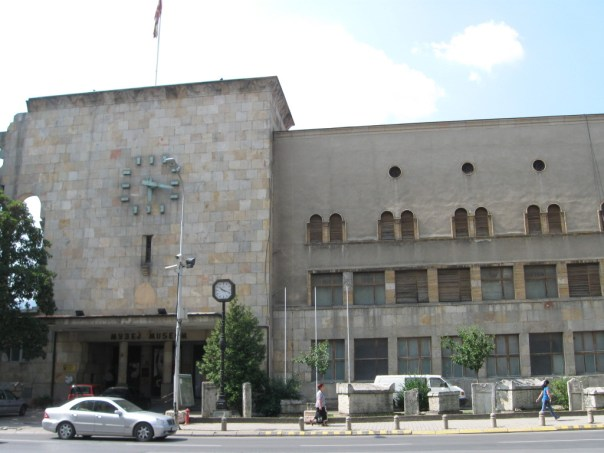 Stationsbygning Skopje