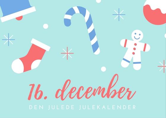 Sender du et julekort