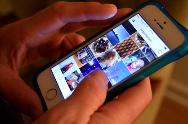 sociale medier og fortællinger anne fotoalbum