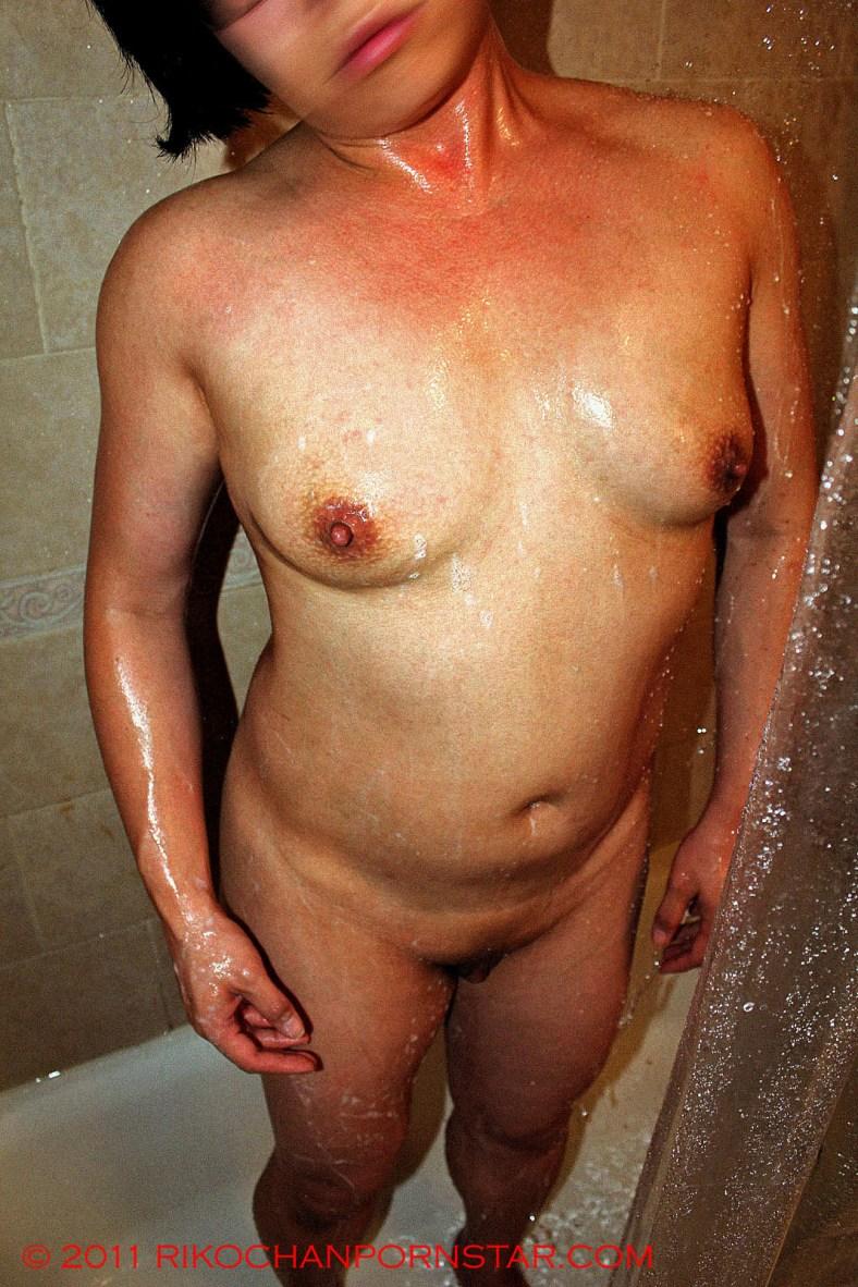 Rikochan Soapy Shower Tits 3