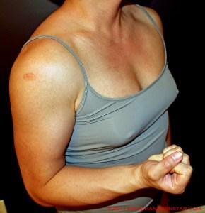 Amateur Rikochan's FBB biceps