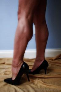 Would you like to worship Rikochan's Muscular calves?