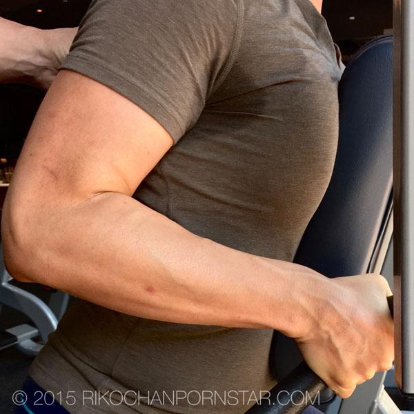 FBB Rikochan's vascular forearms