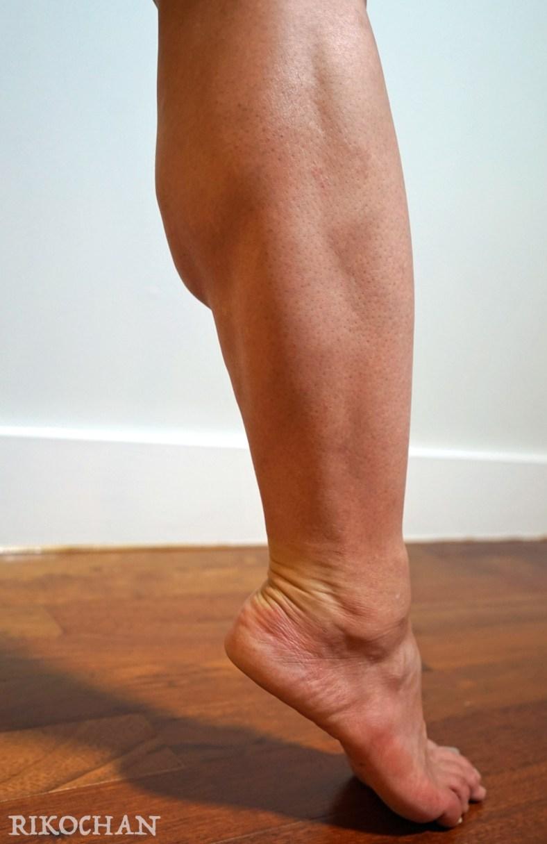 Rikochan muscular calf