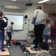 Høy elevaktivitet i arbeid med engelske tidsbegreper