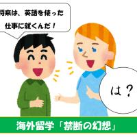 そこの若いの!「英語を使う仕事に就きたい」で海外留学するのはやめとけ!