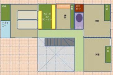 理屈っぽい旦那が一条で建てるi-Smartのブログ-エクセル間取3_2F