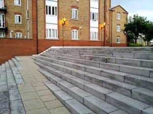 inclusive design accessible stairs