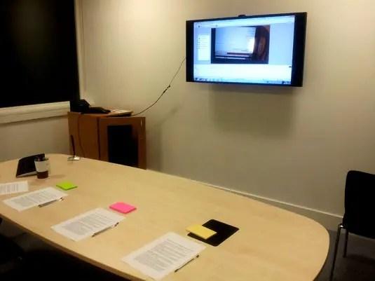 Mobile Device Testing Observation Room