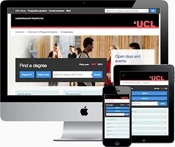 UCL Undergraduate Responsive Design