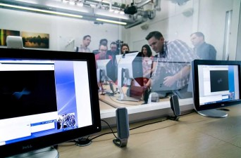 UX Lab in London. © City University London