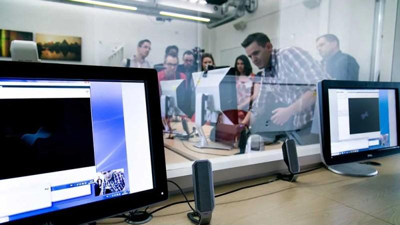 UX Lab in London. © City University London