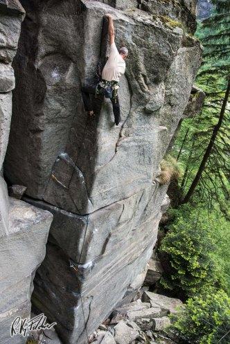 """Richard Felderer in cima a """"soft grit"""""""