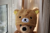 rilakkuma plush hat bear