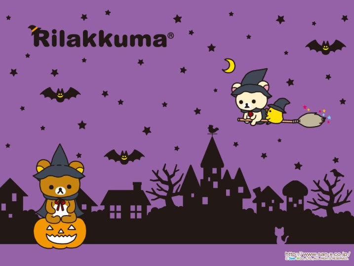 rilakkuma wallpaper october halloween