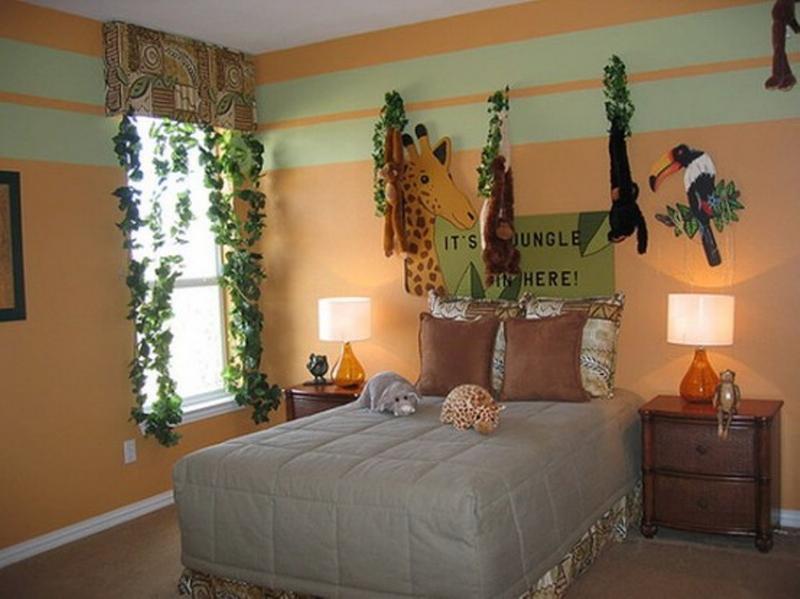 Jungle Decor For Bedroom Novocom Top