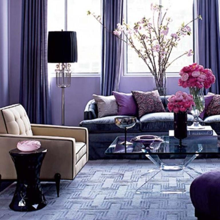 20 Dazzling Purple Living Room Designs Rilane Part 47