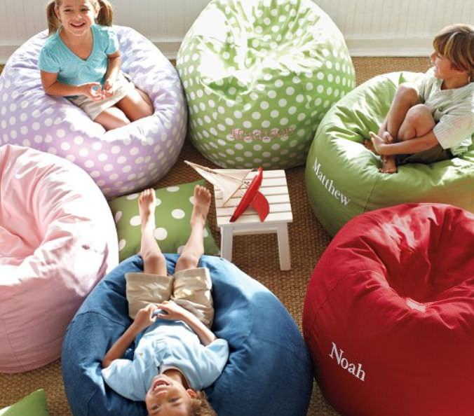 15 fun and comfortable bean bags for kids