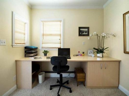 Light Yellow Home Office