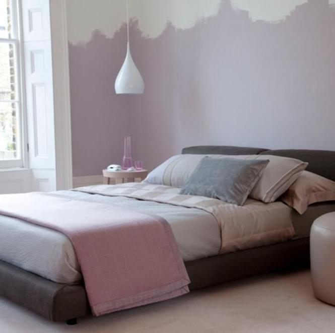 Charming Pastel Purple Bedroom