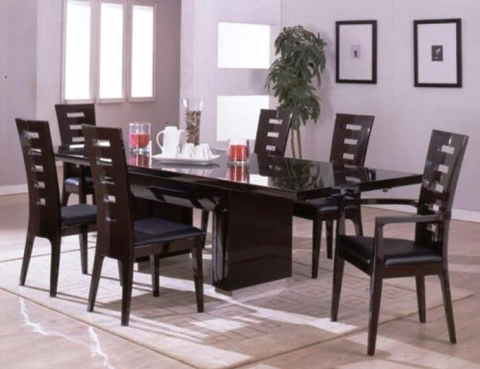 10 Modern Dining Room Sets with Awesome Upholstery   Rilane 10 Modern Dining Room Sets with Awesome Upholstery