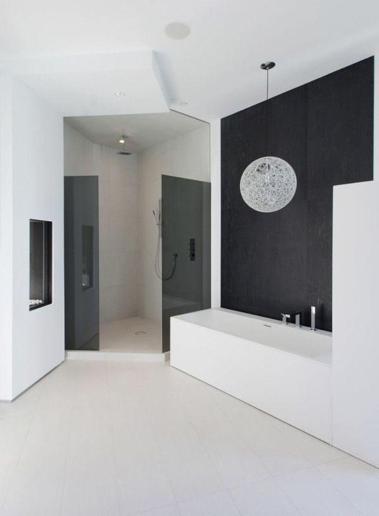 15 Contemporary Black And White Bathroom Ideas Rilane