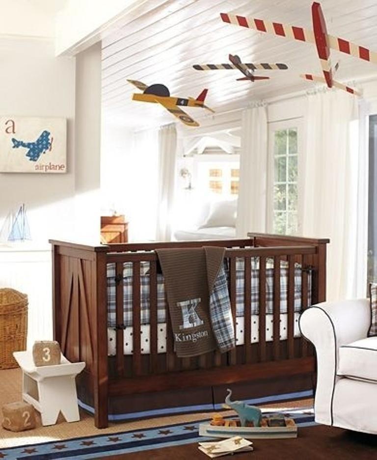 Airplane Themed Nursery Thenurseries