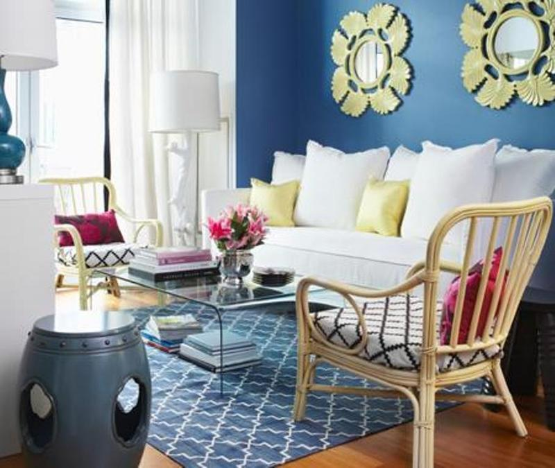 Blue And Yellow Rooms Interesting 25 Best. Blue And Yellow Living Room ... Part 43