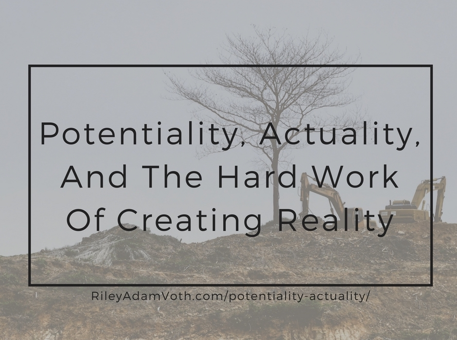 potentiality actuality potential energy work creativity reality leadership blog graphic
