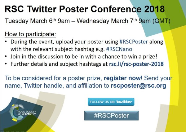RSC Twitter Poster Conference 2018