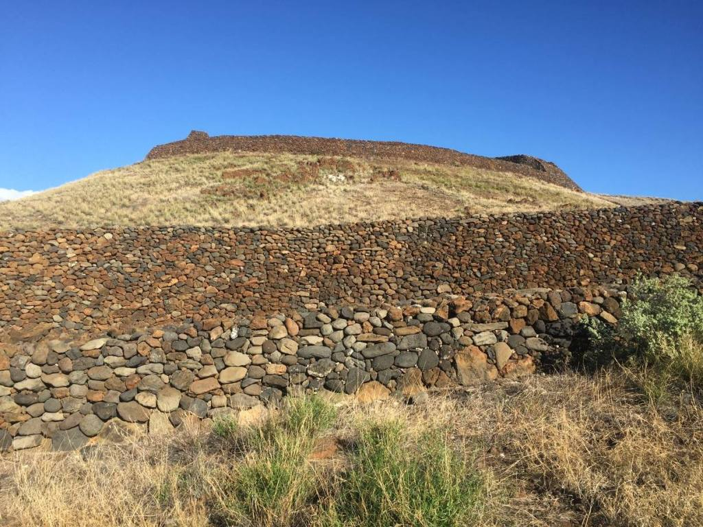 Pu'ukohola Heiau National Historic Site houses the temple of Kamehameha the Great