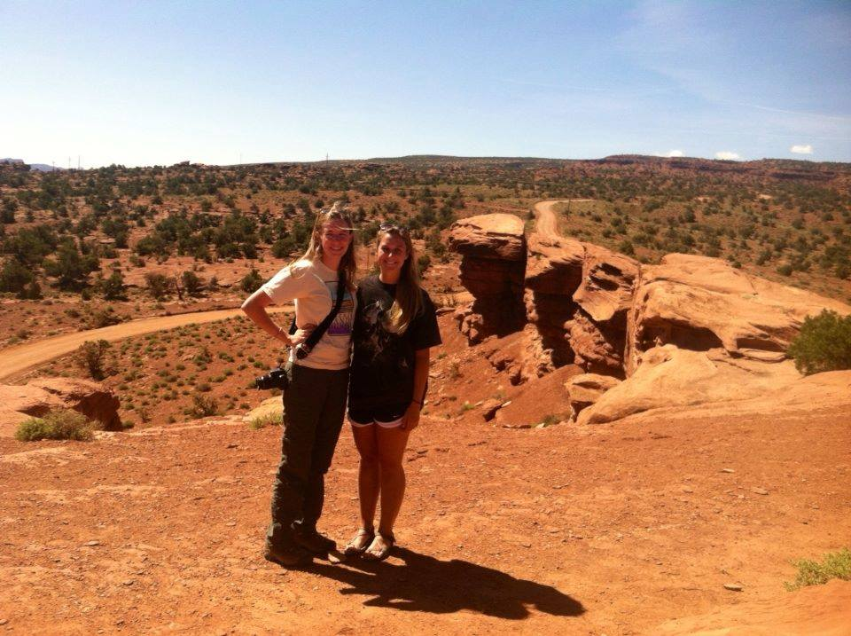 Allison and I at Capitol Reef