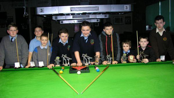 CARLOW JUNIOR SNOOKER LEAGUES 2011/2012 Results