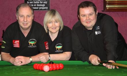 Stephen Lee Exhibition at Joeys Snooker Club Dublin