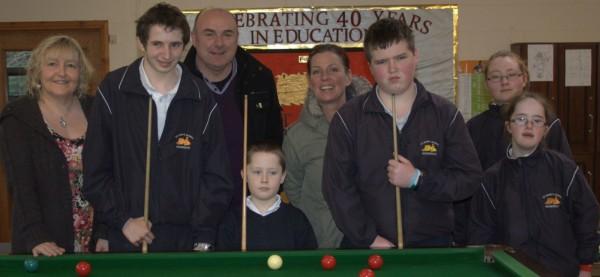 Coaching at St Marks Special School, Newbridge