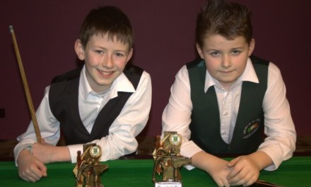 33rd Stars of the Future U/14s at Joeys Snooker Club Dublin 2014