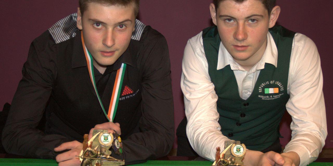 Deaconescu takes Stars U/16 Title at Joey's Snooker Club, Dublin