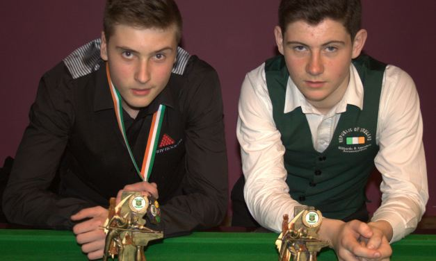 Deaconescu takes Stars U/16 Title at Joey's Snooker Club, Dublin